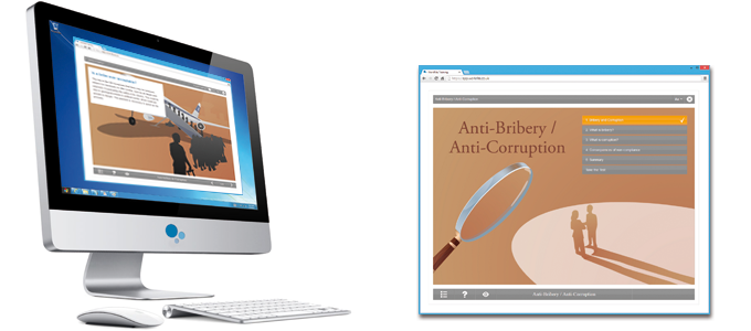 Anti-Bribery / Anti-Corruption E-learning Course Screenshot
