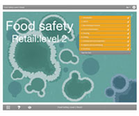Food Safety Retail Level 2 E-learning Course Screenshot