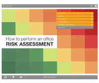 How to Perform an Office Risk Assessment E-learning Course Screenshot
