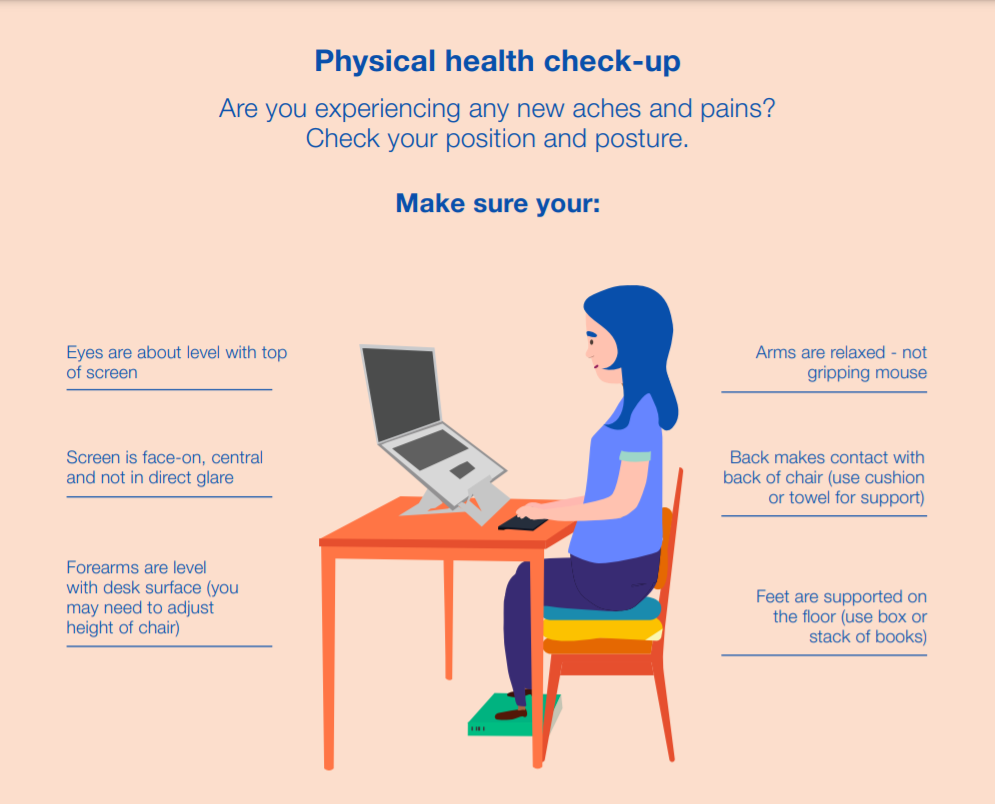 homeworker health check