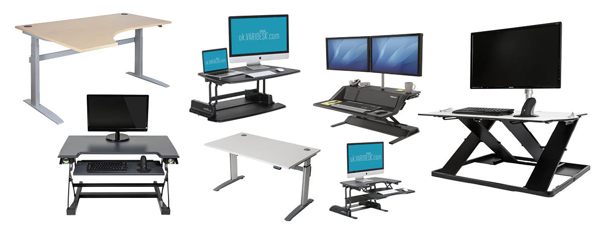 Every type of sit-stand desk and platform